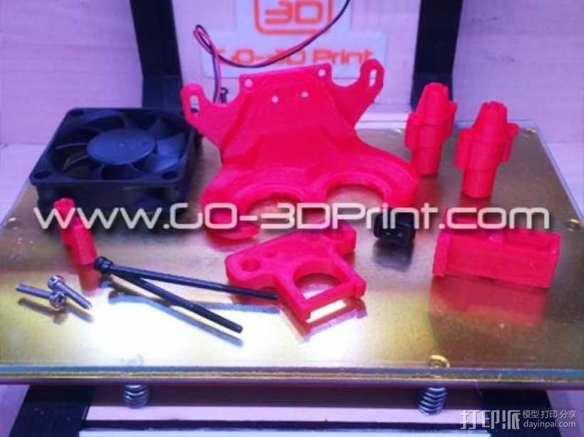 打印机散热装置 3D模型  图9