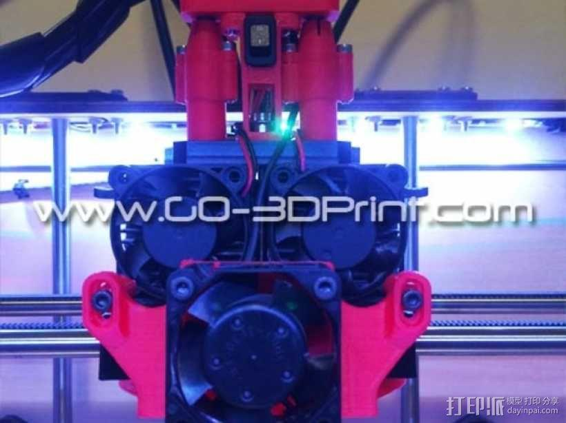 打印机散热装置 3D模型  图7