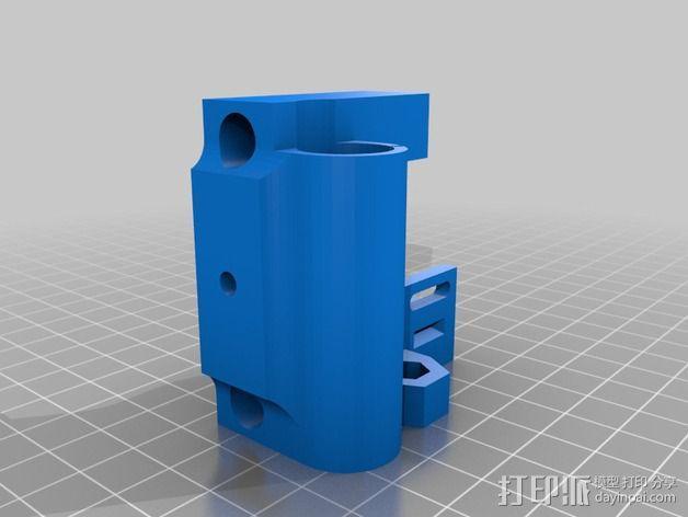 Prusa i3打印机X轴惰轮 3D模型  图2