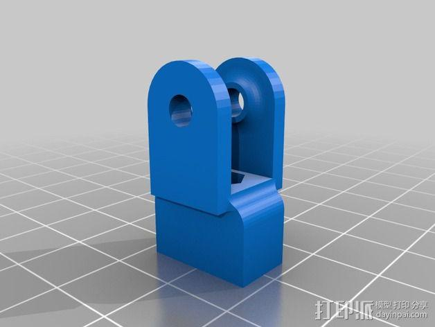 Prusa i3打印机X轴惰轮 3D模型  图3