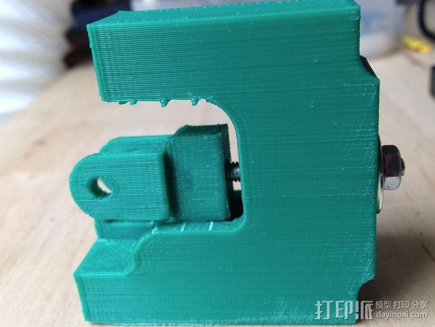 Prusa i3打印机X轴惰轮 3D模型  图7