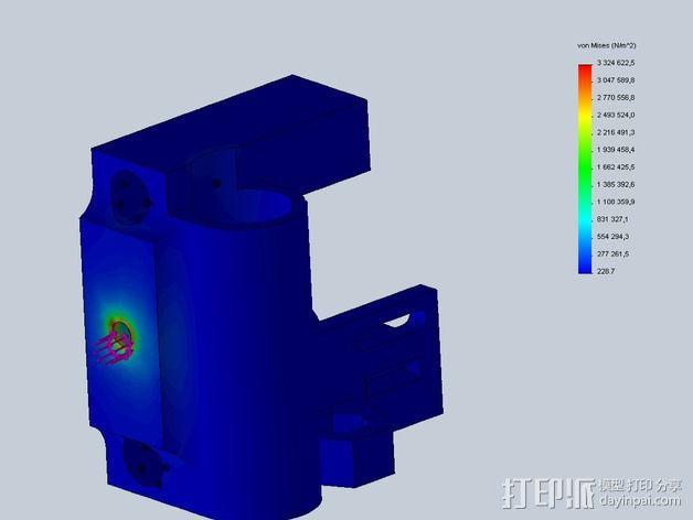 Prusa i3打印机X轴惰轮 3D模型  图11