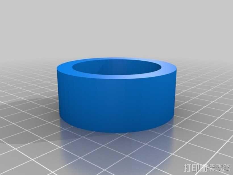Kossel打印机顶部线轴架 3D模型  图2