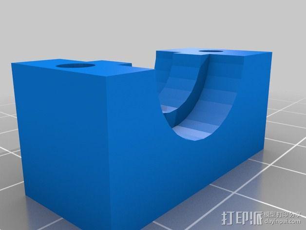 挤出机外框 3D模型  图4