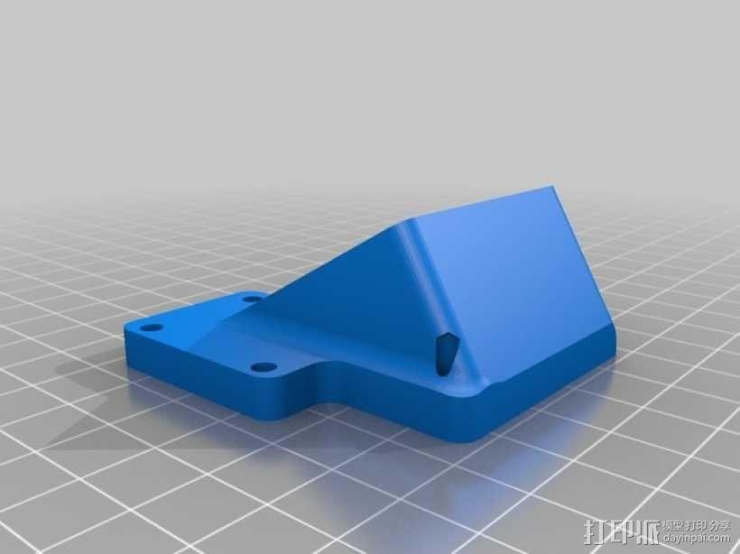No Sag打印机 3D模型  图3