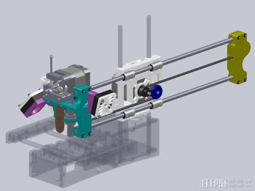No Sag打印机 3D模型  图5