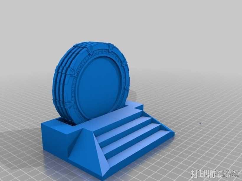 星际之门模型 3D模型  图1