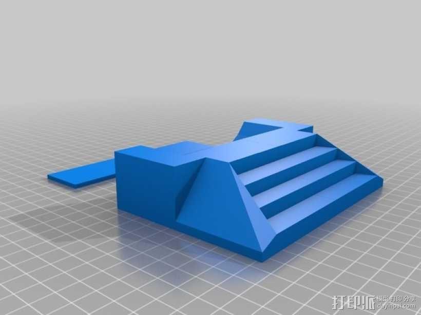 星际之门模型 3D模型  图3
