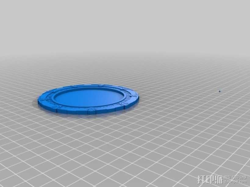 星际之门模型 3D模型  图2