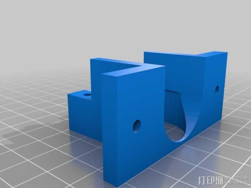 Prusa i2挤出机装置 3D模型  图5