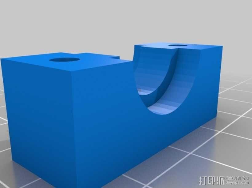 Prusa i2挤出机装置 3D模型  图9