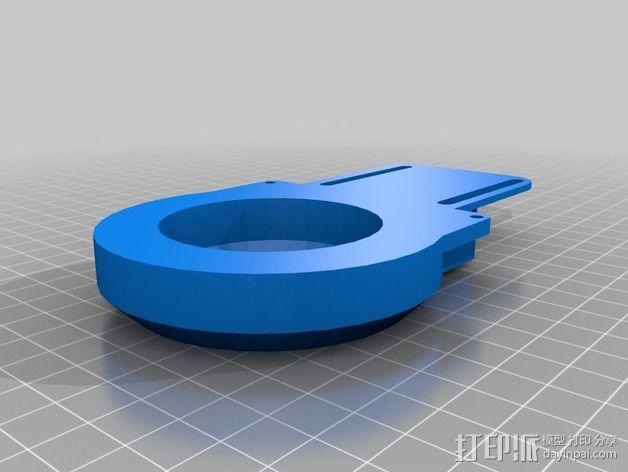 Prusa i3挤出机 3D模型  图8