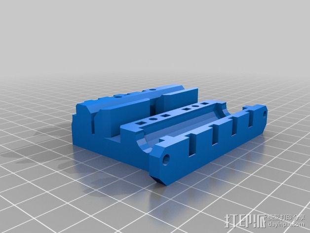 Prusa i3挤出机 3D模型  图10