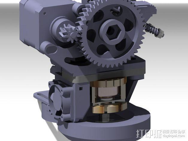 Prusa i3挤出机 3D模型  图14