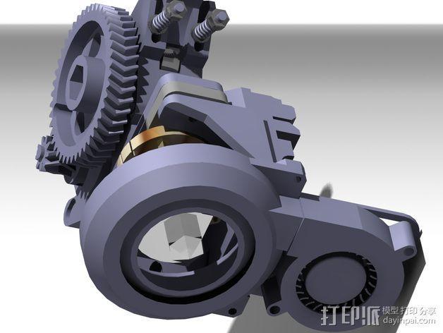 Prusa i3挤出机 3D模型  图16