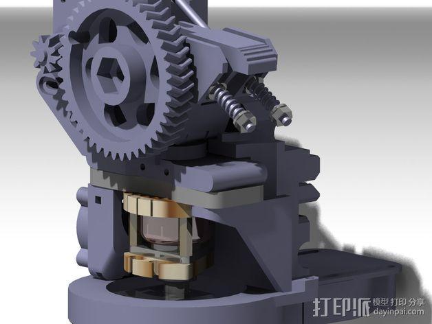 Prusa i3挤出机 3D模型  图13