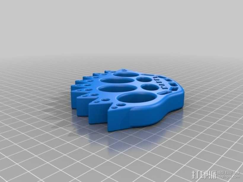 指节套环 3D模型  图2