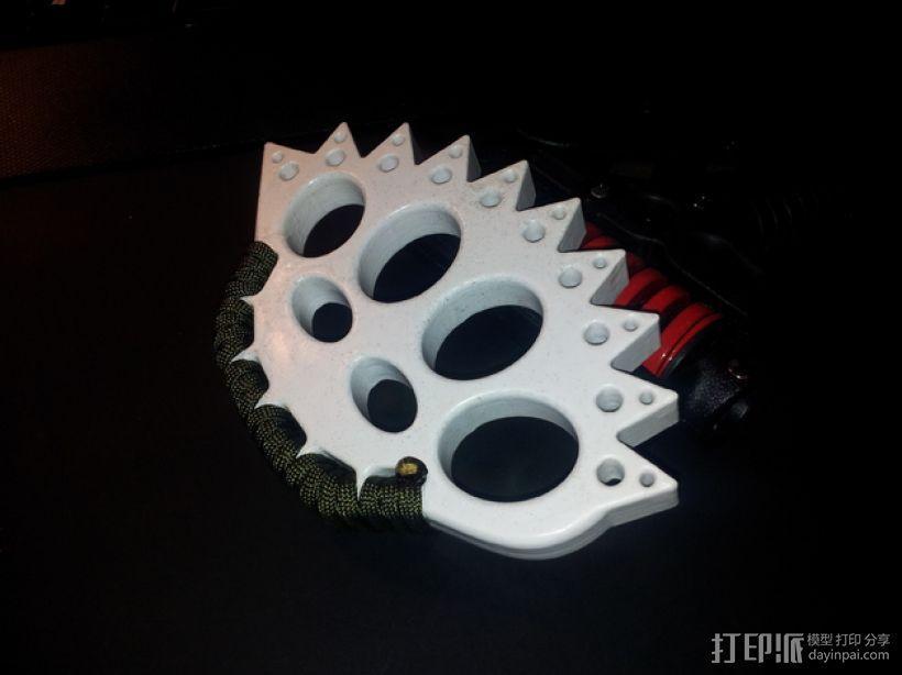 指节套环 3D模型  图3