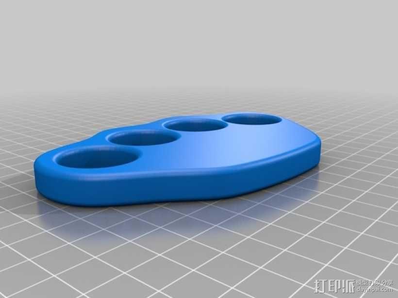 指节套环 3D模型  图16