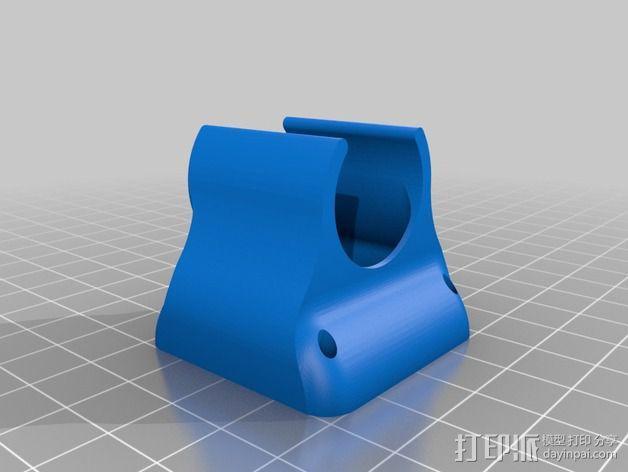 挤出机风扇导管 3D模型  图2