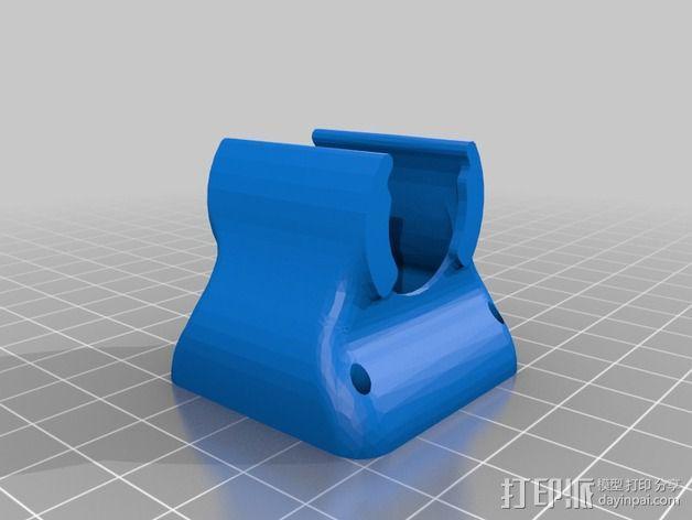 挤出机风扇导管 3D模型  图4