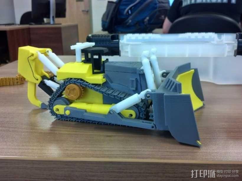 推土机 3D模型  图1