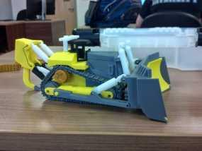 推土机 3D模型