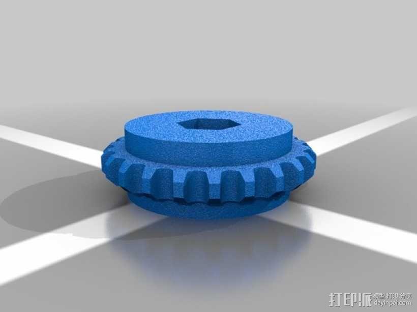 推土机 3D模型  图17