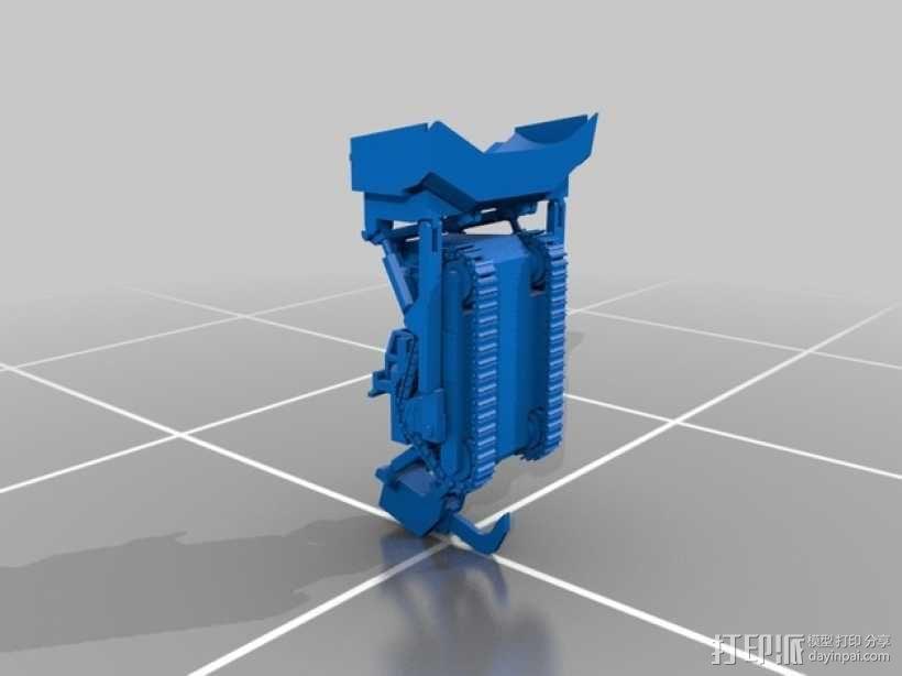 推土机 3D模型  图29