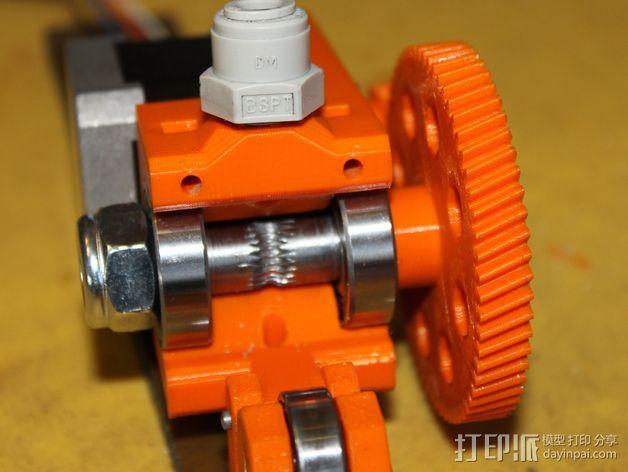 齿轮挤出机 3D模型  图9