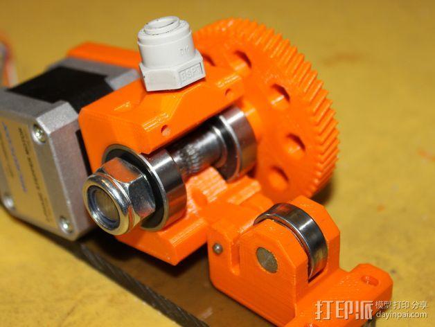 齿轮挤出机 3D模型  图8