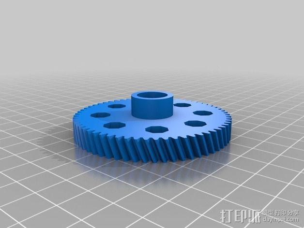 齿轮挤出机 3D模型  图14