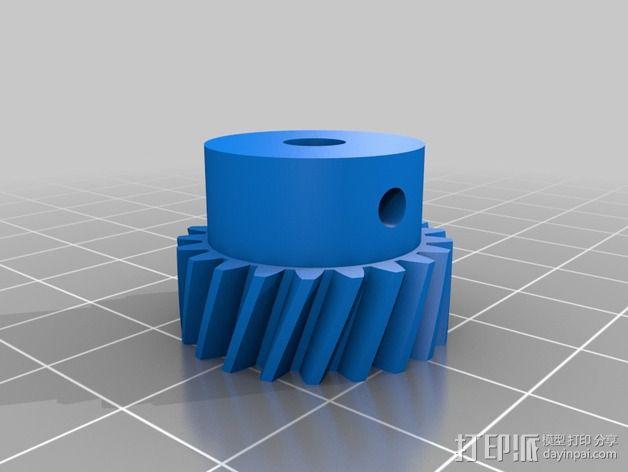 齿轮挤出机 3D模型  图16