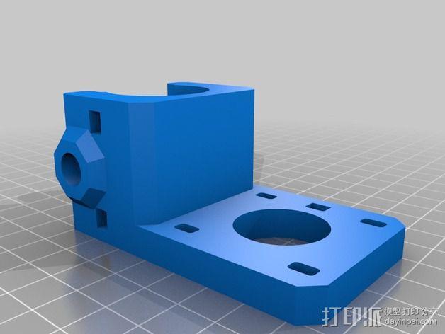 齿轮挤出机 3D模型  图15
