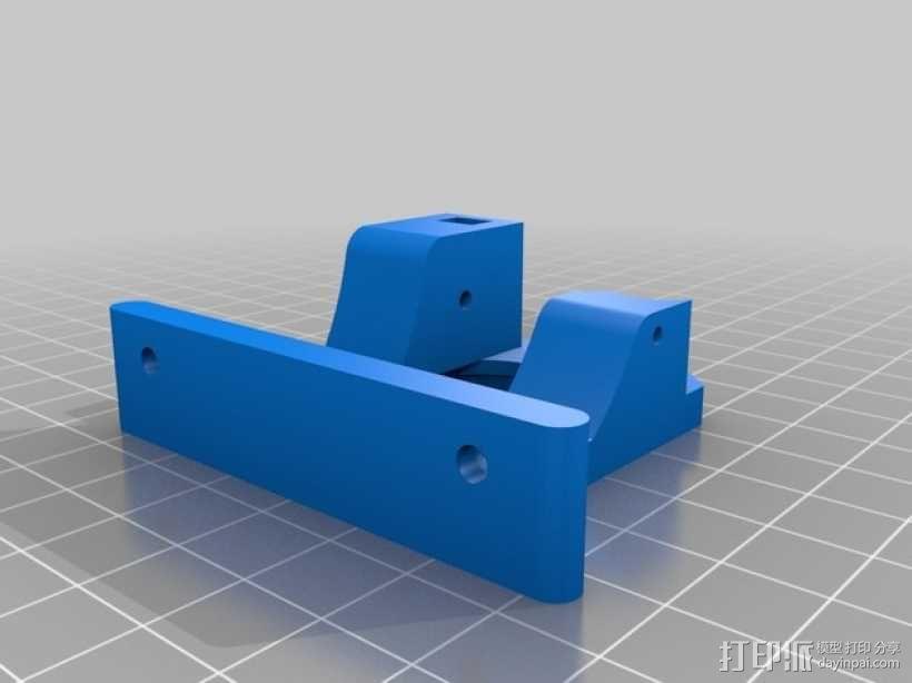 Bowden鲍登直线挤出机 3D模型  图8