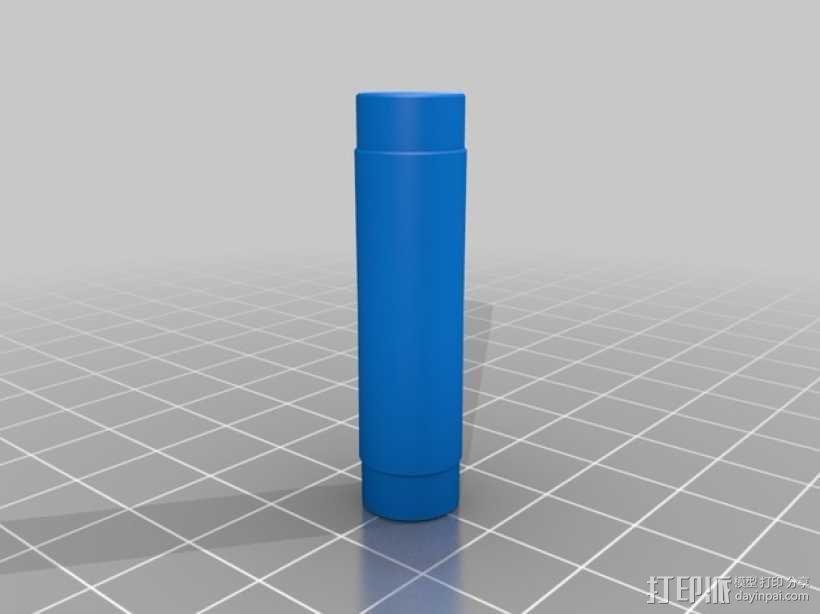 可调节松紧度的卷线轴 3D模型  图4