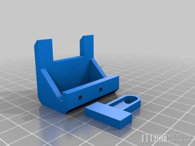 Prusa i3 打印头高度调节器 3D模型  图4