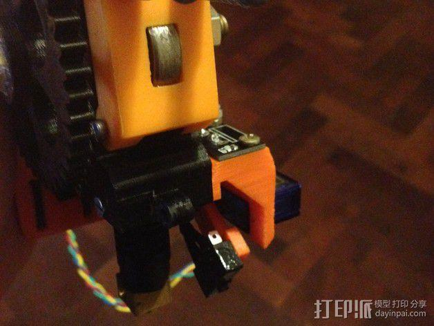 Prusa i3 打印头高度调节器 3D模型  图3