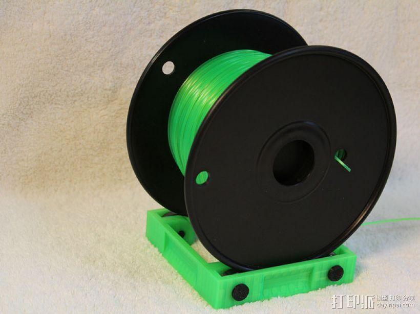 3D打印线材架 线轴架 3D模型  图1