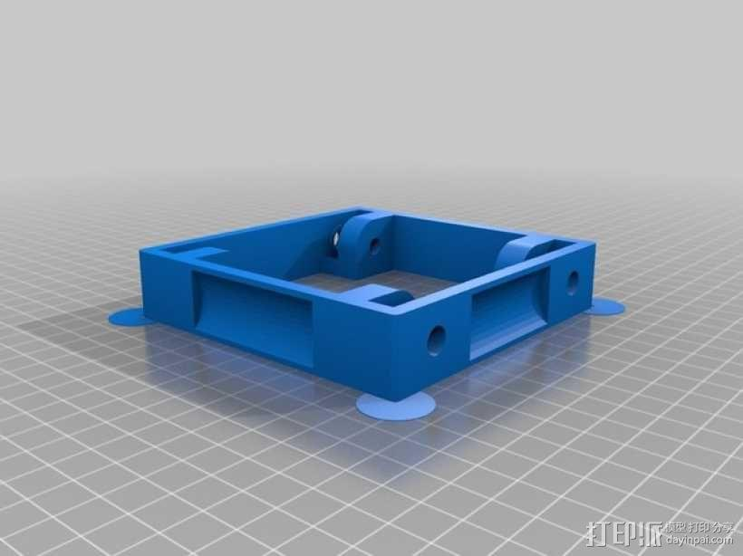 3D打印线材架 线轴架 3D模型  图5