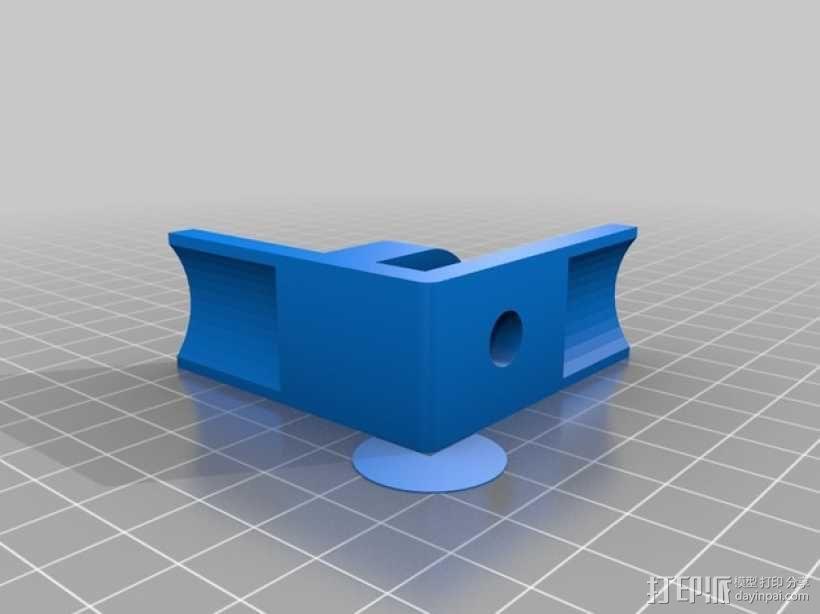 3D打印线材架 线轴架 3D模型  图4