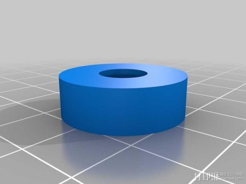 3D打印线材架 线轴架 3D模型  图6