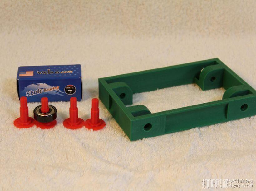 3D打印线材架 线轴架 3D模型  图9