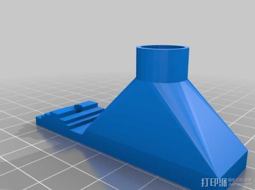 可弯曲喷嘴通风导管 3D模型  图5