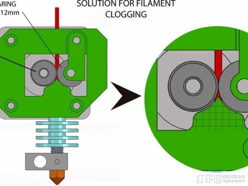 打印机喷嘴 3D模型  图6