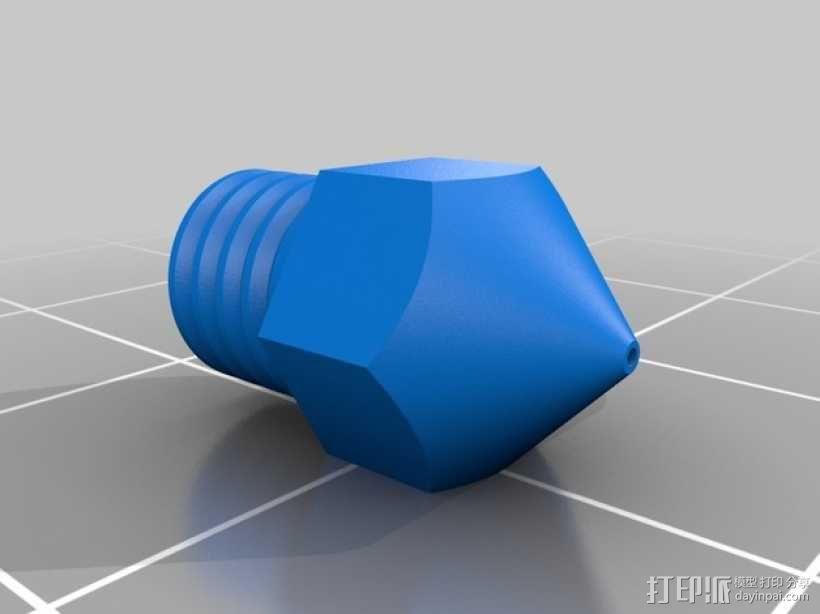 打印机喷嘴 3D模型  图11