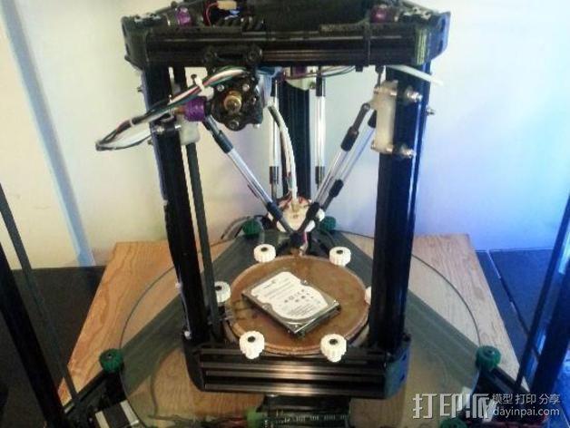 Griffin Delta式 3D打印机 3D模型  图2