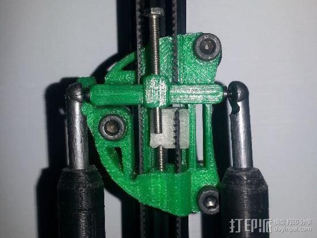 Griffin Delta式 3D打印机 3D模型  图3