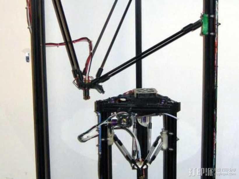 Griffin Delta式 3D打印机 3D模型  图1