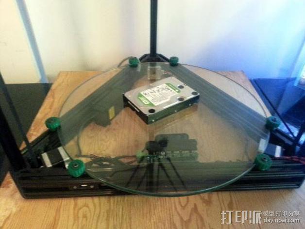 Griffin Delta式 3D打印机 3D模型  图8